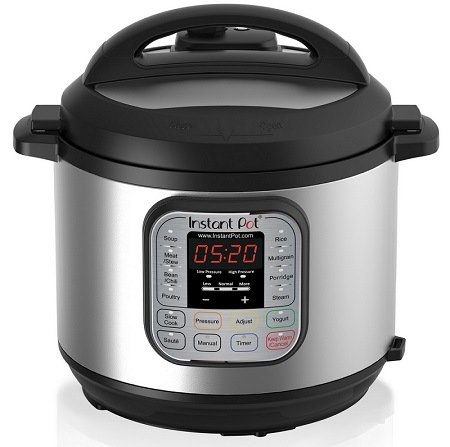 Instant Pot DUO80 8 Qt 7-in-1 Multi- Use Programmable Pressure Cooker.