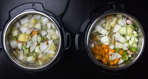 Retaining nutrients with a  pressure cooker.