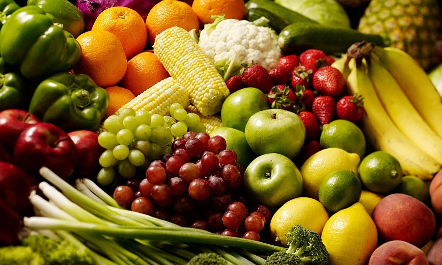 Fruit and Vegetables Healthy
