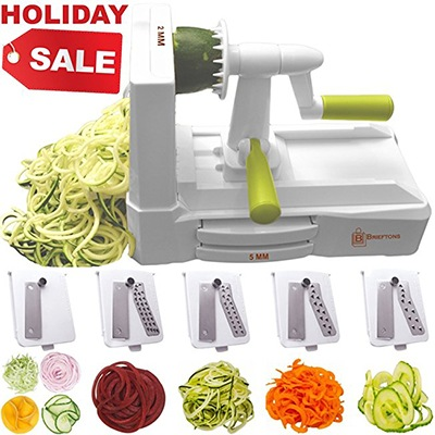 brieftons 5 blade spiralizer